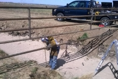 Pipe Fence Construction
